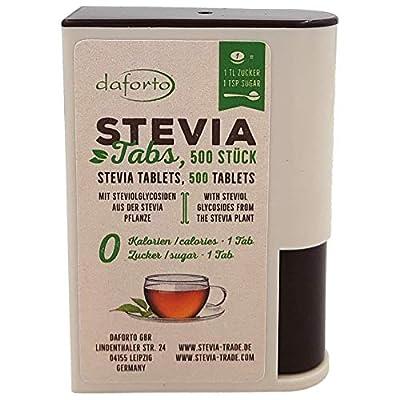 Daforto Stevia Tablets, 500 Tablets