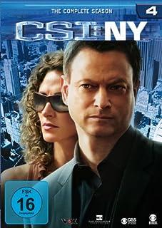CSI: NY - Season 4 [Alemania] [DVD]