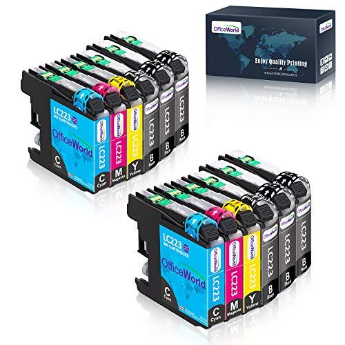 OfficeWorld Cartuchos de impresora para Brother MFC-J5320DW DCP-J4120DW MFC-J420DW MFC-J5625DW MFC-J4620DW MFC-J4420DW MFC-J880DW MFC-J4625DW DCP-J562DW 6 Negro, Cian 2, 2 magenta, amarillo 2
