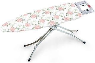 GAXQFEI Tables À Repasser Vêtements Studio Large, Table À Repasser À Support Métallique de Type X Réglable En Hauteur, Con...