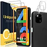 UniqueMe [2 Pack] Screen Protector for Google Pixel 4A + [3