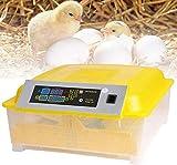 Oppikle 48/56 uova, incubatrice intelligente digitale con indicatore di temperatura e regolazione dell'umidità, incubatrice completamente automatica (48 uova)