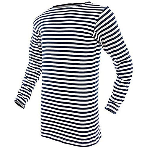 Mil-Tec Russian Navy Pullover Striped Summer Sweater - 10813000-906