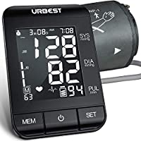 URBEST Blood Pressure Monitor with Large Backlit Display