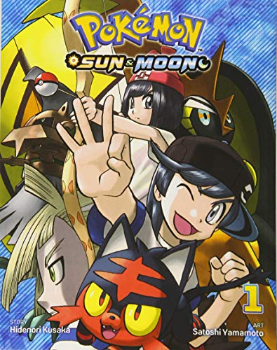 Pokemon Sun & Moon, Vol. 1