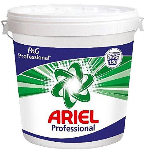 Ariel Professional - Detergente en polvo en cubo 150 lavados