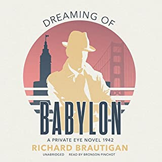 Dreaming of Babylon audiobook cover art