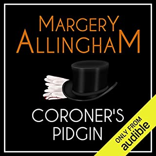 Coroner's Pidgin audiobook cover art