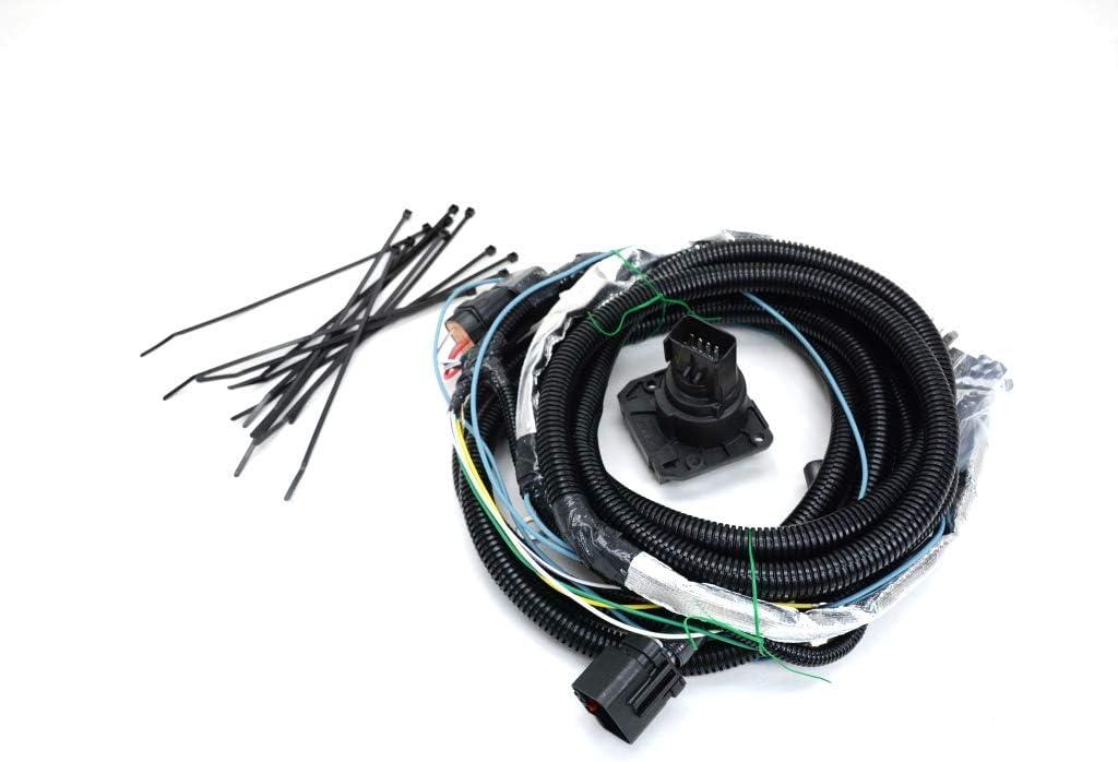 2007-2010 jeep commander trailer tow wiring harness oe : automotive -  amazon.com  amazon.com