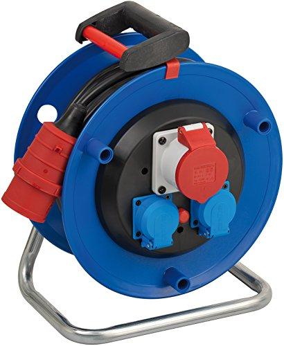 Brennenstuhl 1182730 Garant - Carrete alargador de cable (30 m, H05VV-F 5G1,5)