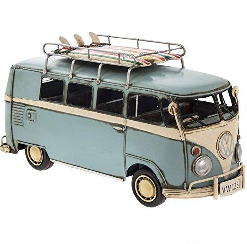 VW Camper Van Metal Model Blue