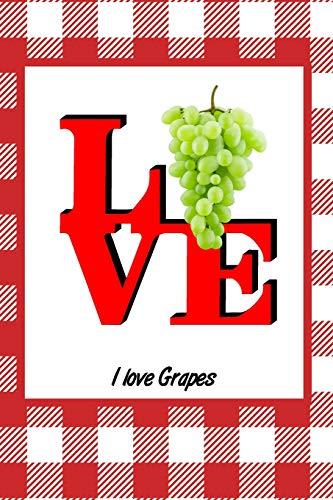 I Love Grapes: Picnic Food Writing Journal