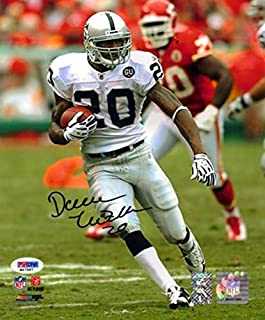 Darren McFadden Autographed Photograph - 8x10 White Jersey vs KC in Black - PSA/DNA Certified - Autographed NFL Photos