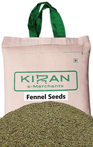 Kiran's Fennel Seeds, Finocchietto Selvatico Eco-friendly pack, 10 lb (4.54 KG)