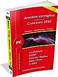 Annales des Concours 2020 - PC Physique, Modelsiation et Chimie