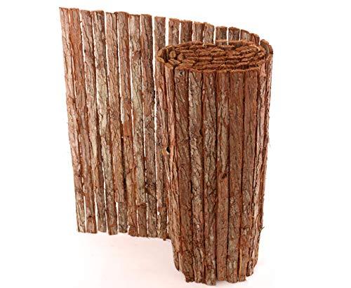 bambus-discount.com Rindenmatte Country Premium-Qualität günstig - 90 x 300cm - Sichtschutzmatte