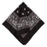 Large Bandana Handkerchiefs - Head Bandannas for Men & Women -...