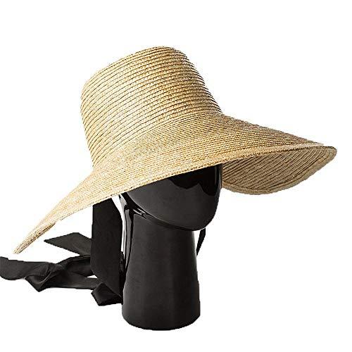 Mode Lässig Wilden Sonnenhut, Lady Hut Strohhut Frühling und Sommer Reisen Zum Strand Sonnenschirm Hut Raffey Strohhut, TBR@AKL