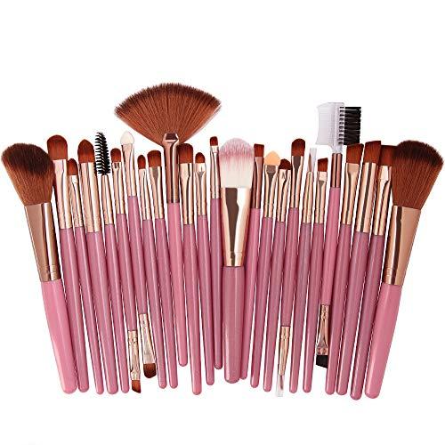 DXIA Make Up Pinsel Set 25 Stücke, Professionelle Pinselsets makeup, Premium Schminkpinsel Set,...