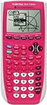 $129 » Texas Instrument 84 Plus Silver Edition graphing Calculator (Full Pink in color) (Packaging may vary) (Renewed)