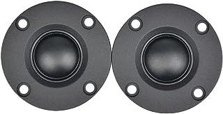 RYSF 2Pcs 2 Pulgadas Altavoces portátiles de Audio 6 Ohm 30W Radiador de Aluminio Altavoz de Agudos de Cine en casa HiFi