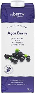 The Berry Company Acai Juice Blend with Raspberry & Yerba Mate, 1 Litre