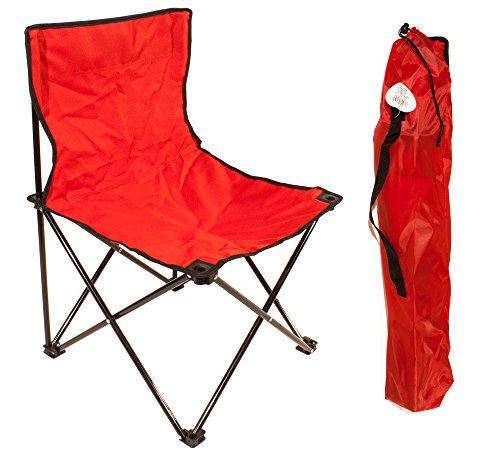 Joy Summer Sedia Campeggio Richiudibile con Sacca Mare Spiaggia Chiusura a Ombrello