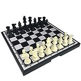 YUNNING Juego de ajedrez Extra Grande Plástico Magnetie Ajedrez Ajedrez Ajedrez Magnético Juego De Mesa Entretenimiento Piezas De Cumpleaños De Navidad Regalo De Cumpleaños
