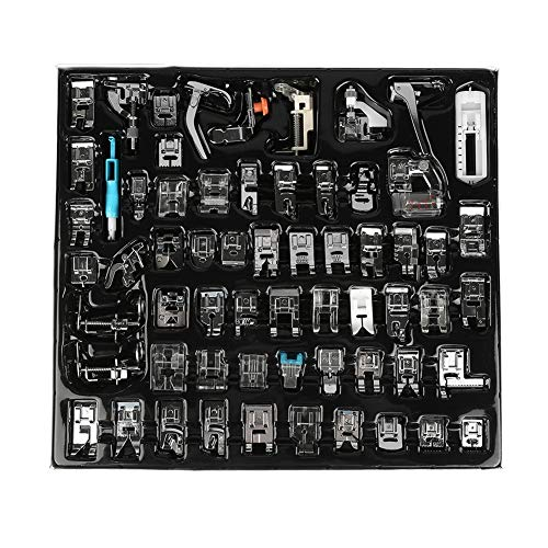 Affordable Borlai 62Pcs Sewing Foot Household Multifunctional Sewing Machine Parts Press Foot Sew Ma...