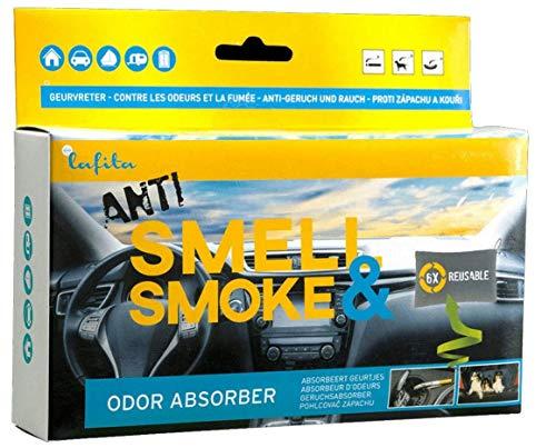 Lafita Anti Smoke Auto Lufterfrischer Geruchsneutralisator 400g KFZ Raum Duft