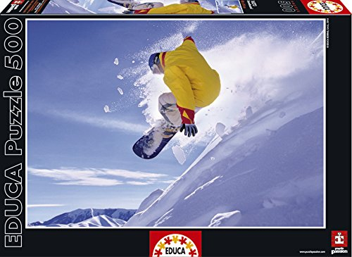 Educa - Puzzle Snowboard, 500 Piezas