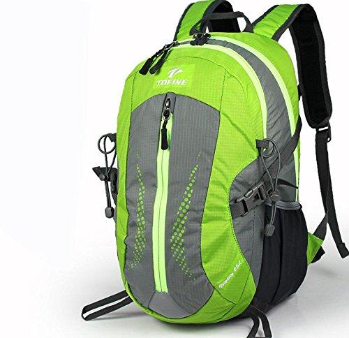 Nouveau sac à dos plein air randonnée sac 25L hommes et femmes casual, sac à dos moyens sacs extérieurs , green