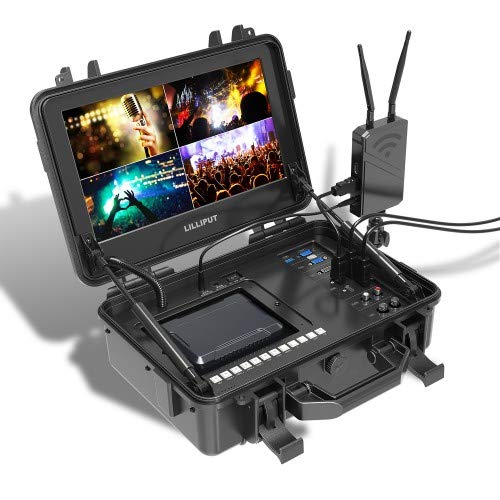 """LILLIPUT BM120-4KS 12.5"""" 4K Monitor with 3D LUTS and HDR 4K Ultra-HD Native Resolution, Cover 137% Rec709 97% NTSC 90% DCI-P3 Color Space Color Space Peaking False Color & Time Code"""