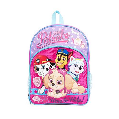 Pink Paw Patrol Skye Backpack for Girls, 16 in. Skye & Friends School Bag