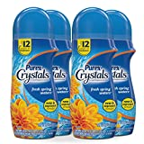 Purex Crystals In-Wash Fragrance and Scent Booster, Fresh Spring Waters, 15.5 Ounce, 4 Count