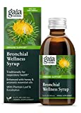Gaia Herbs, Bronchial Wellness Herbal Syrup - Immune Support Supplement, Soothing Support for Throat and Respiratory Health with Eucalyptus Essential Oil, 5.4-Ounce (Pack of 1)