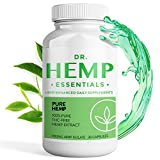 Natural Anxiety Relief - Pain Relief - Anxiety Supplements - Pure Hemp Extract Capsules - Hemp Capsules for Pain Relief - Hemp Isolate for Pain Relief - Workout Supplements - THC Free - Pure Hemp