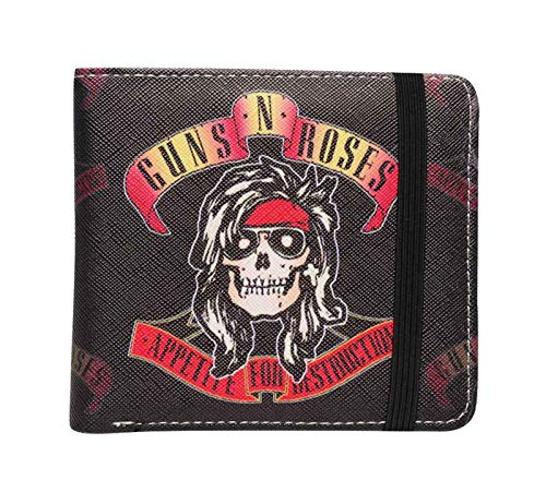 Guns N Roses Brieftasche Appetite for Destruction Band Logo Nue offiziell