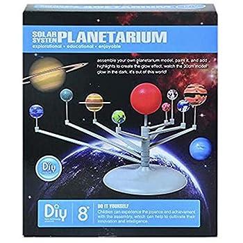 VIPAMZ Solar System Planetarium DIY Model--Astronomical Science Kit for Kids