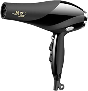 2400W Professional Hair Dryers Black Hot Hair Dryer Pro Salon Ionic Ceramic Blow Dryer with Concentrator Nozzle