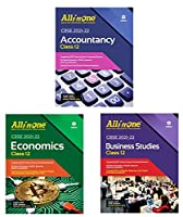CBSE All In One Class -12 ( Account + Business + Economics ) Set 0f 3 Book Latest Edition 2022