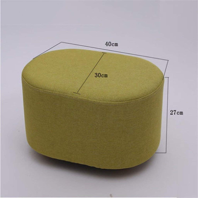 EU90 Stools Stools Footstools Cloth sofa stools Creative Dumplings Small stools - small stool (color     2)