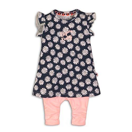 DIRKJE Set Tunika (Kleid) Leggings Gänseblümchen, Größe:68 6-9 Monate