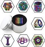 0BEST Pizarra de Color magnético de 216 y 5 mm, Pizarra, Escultura de descompresión de Oficina, Rompecabezas de Color 3D (6 Colores)