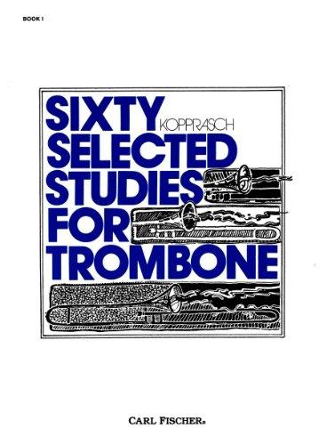 コプラッシュ : トロンボーンのための60の練習曲集 第1巻/カール・フィッシャー社