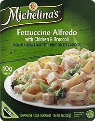 Michelina's Fettuccine Alfredo With Chicken & Broccoli, 8.5 Oz (Frozen)