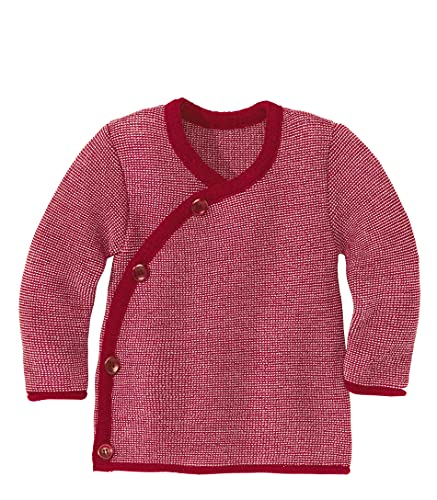 Disana Melange-Jacke Bordeaux-Rosé Gr. 62/68