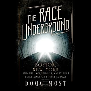 The Race Underground audiobook cover art