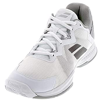 Babolat Women`s SFX 3 All Court Tennis Shoes White and Silver  9.5