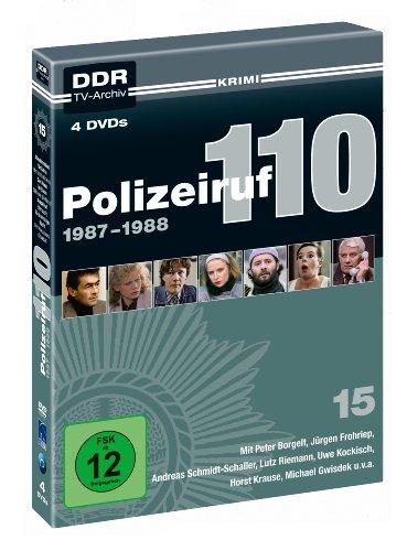 Polizeiruf 110 - Box 15: 1987-1988 (DDR TV-Archiv) (4 DVDs)